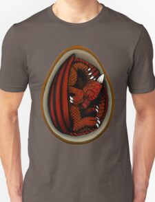 Dragon Egg - Red and Orange T-Shirt