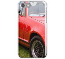 Triumph TR7 3.5 V8 Grinnall  iPhone Case/Skin