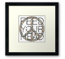 Feed Your Head Hippie LSD Peace Freedom Party Music Framed Print