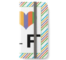 I love R + F Independent consultant  iPhone Wallet/Case/Skin