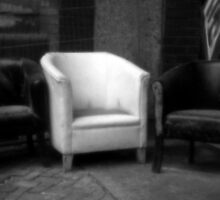 Pinhole Square Chair by DelayTactics