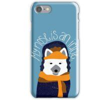 Arctic Fox by Darah King iPhone Case/Skin