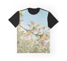Pink on White Graphic T-Shirt