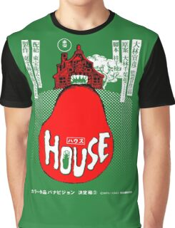 House Poster Tee (1977 Japanese film) Graphic T-Shirt