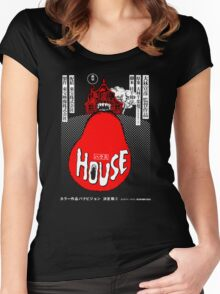 House Poster Tee (1977 Japanese film) Women's Fitted Scoop T-Shirt