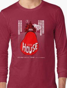 House Poster Tee (1977 Japanese film) Long Sleeve T-Shirt