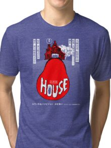 House Poster Tee (1977 Japanese film) Tri-blend T-Shirt