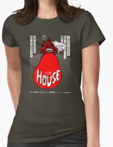 House Poster Tee (1977 Japanese film) Womens Fitted T-Shirt