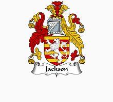 Jackson Coat of Arms / Jackson Family Crest Unisex T-Shirt