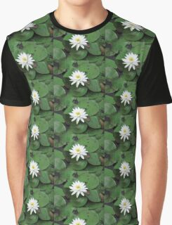 white lily in a sea of green Graphic T-Shirt