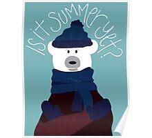 Polar Bear by Darah King Poster
