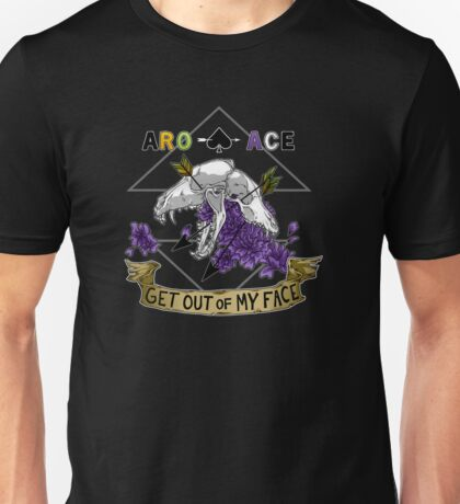 Aro+Ace - Get Out of My Face T-Shirt