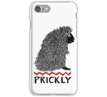 Prickly Porcupine iPhone Case/Skin