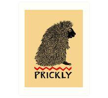 Prickly Porcupine Art Print