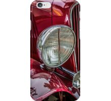 Auburn Headlamp iPhone Case/Skin