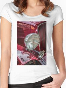 Auburn Headlamp Women's Fitted Scoop T-Shirt