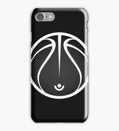 Vector Basketball Halftone iPhone Case/Skin