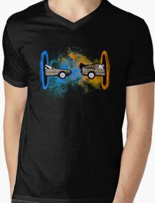 Portal Mens V-Neck T-Shirt