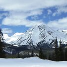 Mt Aetna from Monarch Pass by Bernie Garland