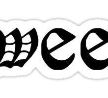 Dude, Sweet – Where's My Car Tattoo Shirt 2 Sticker