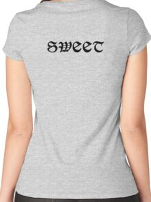 Dude, Sweet – Where's My Car Tattoo Shirt 2 Women's Fitted Scoop T-Shirt