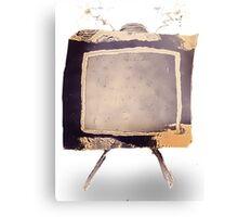 Steampunk Television Vintage  Canvas Print