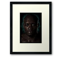 Anderson Silva (Superimposed) Framed Print