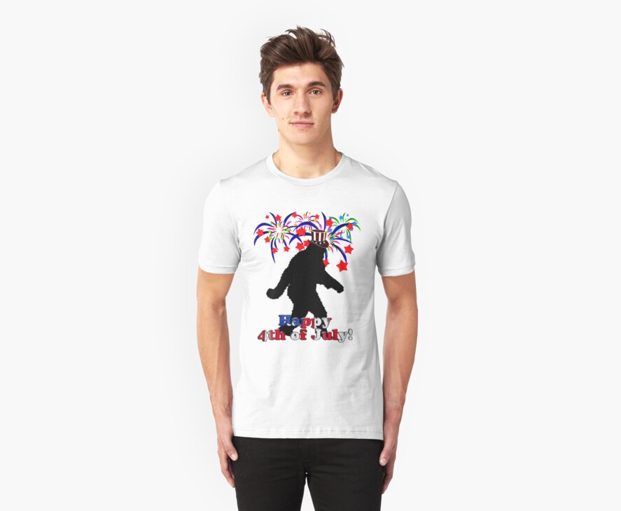 4th of July Squatchin' by Gravityx9