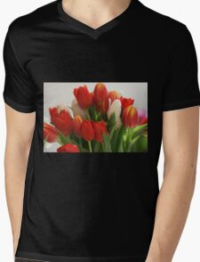 A Bouquet of Love Mens V-Neck T-Shirt