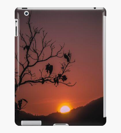 Sunset Silhouette  iPad Case/Skin