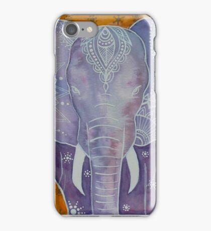 Purple Elephant iPhone Case/Skin