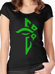 Ingress Enlightened Women's Fitted Scoop T-Shirt