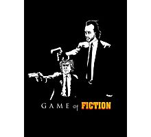Game of fiction Photographic Print
