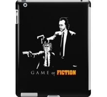Game of fiction iPad Case/Skin