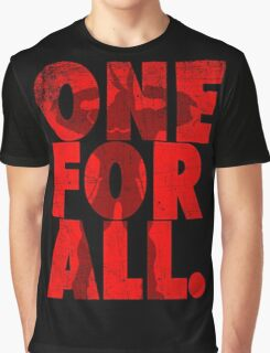 All Might - One for all Graphic T-Shirt