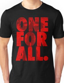 All Might - One for all - my hero academia Unisex T-Shirt