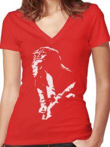 John Frusciante Women's Fitted V-Neck T-Shirt