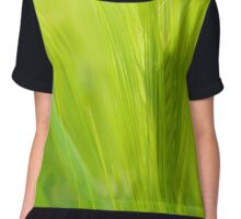 Field of barley Chiffon Top
