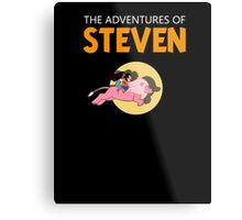 The Adventures of STEVEN (TINTIN) Metal Print