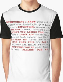 An Ode to Busted Graphic T-Shirt