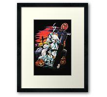 Lady Death halloween Framed Print