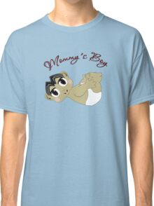 Mommy's Boy Black Hair and Brown Eyes2 Classic T-Shirt
