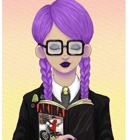 Girls read comics too! Akira Sticker