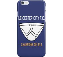 Gary Lineker's Pants of Champions iPhone Case/Skin