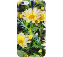 Yellow daisies - painted iPhone Case/Skin