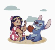 Lilo and Stitch Baby Tee