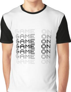 Game On Gaming Geek Video Games PC Playstatopn XBox Graphic T-Shirt