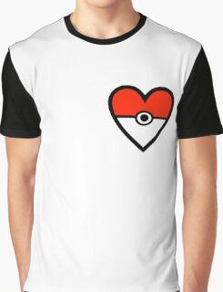 Pokéheart Graphic T-Shirt