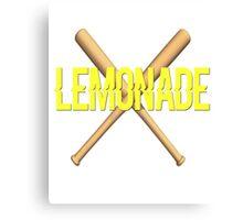 Lemonade Bey Jay Hot Sauce Baseball Bat Becky Canvas Print