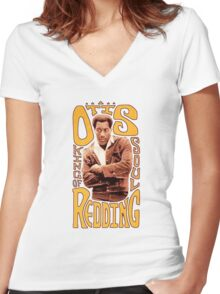King of Soul Women's Fitted V-Neck T-Shirt